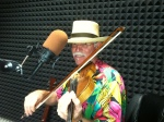 J Robert Fiddling around at WGCU